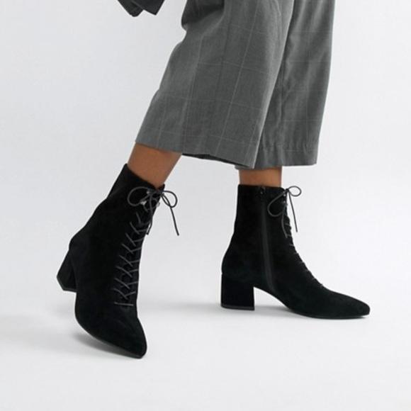Vagabond Simone High Chelsea Boots Black Leather Womens